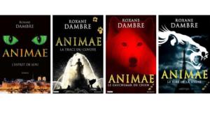 La saga Animae en version numérique : L'esprit de Lou, La Trace du Coyote, Le Cauchemar du Chien, Le Rire de la Hyène