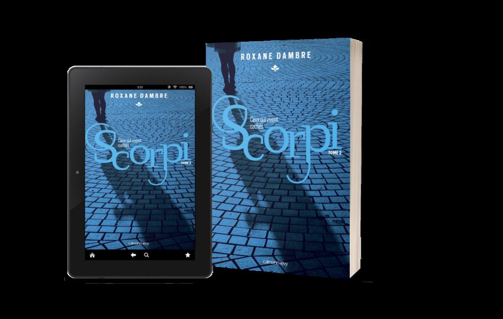 Couverture Scorpi - Tome 2 - Ceux qui vivent cachés