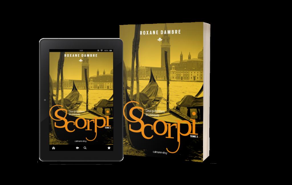 Couverture Scorpi - Tome 3 - Ceux qui tombent les masques